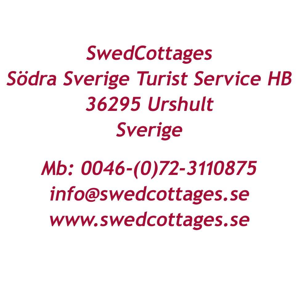 SwedCottages. Stugor i Småland. Stugor i södra Sverige.