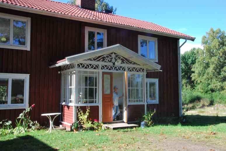 privat gnugga och bogsera liten nära Växjö
